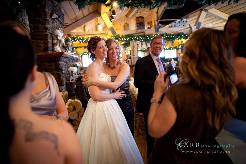 Gunflint Lodge Elopement Bridal reception