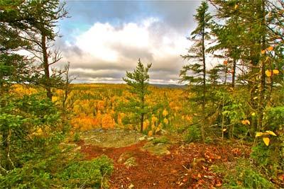 Gunflint Lodge fall-color-scenic-overlook