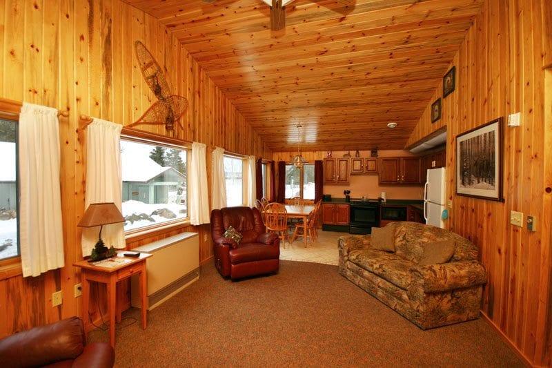 Gunflint Lodge Lake home living room 2 (2)