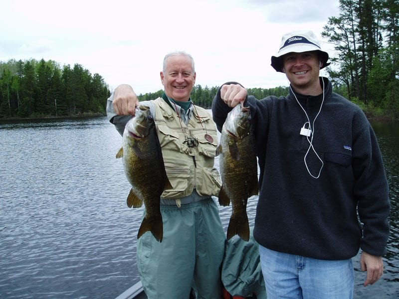 Gunflint Lodge Fishing Bass
