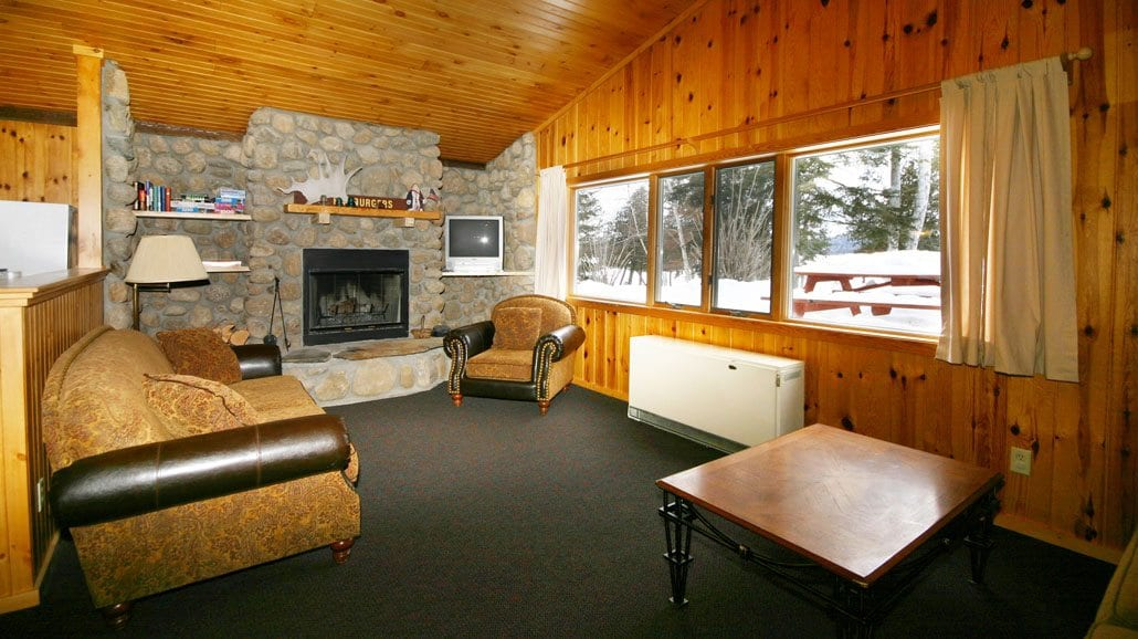 Gunflint Lodge Cabin 17 Living Room