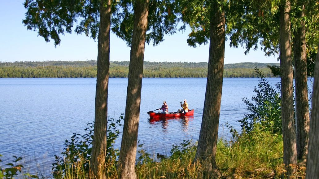 Gunflint Lodge Lake Canoeing