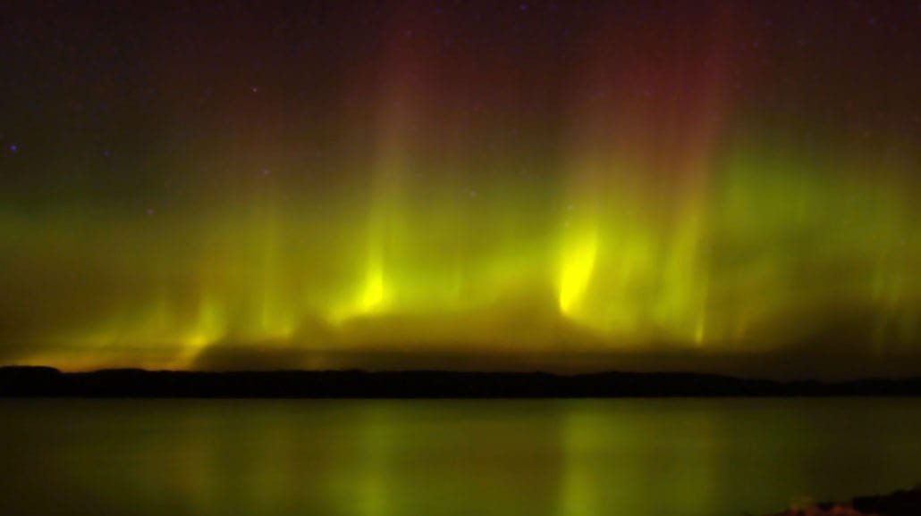 Gunflint Lodge Northern Lights