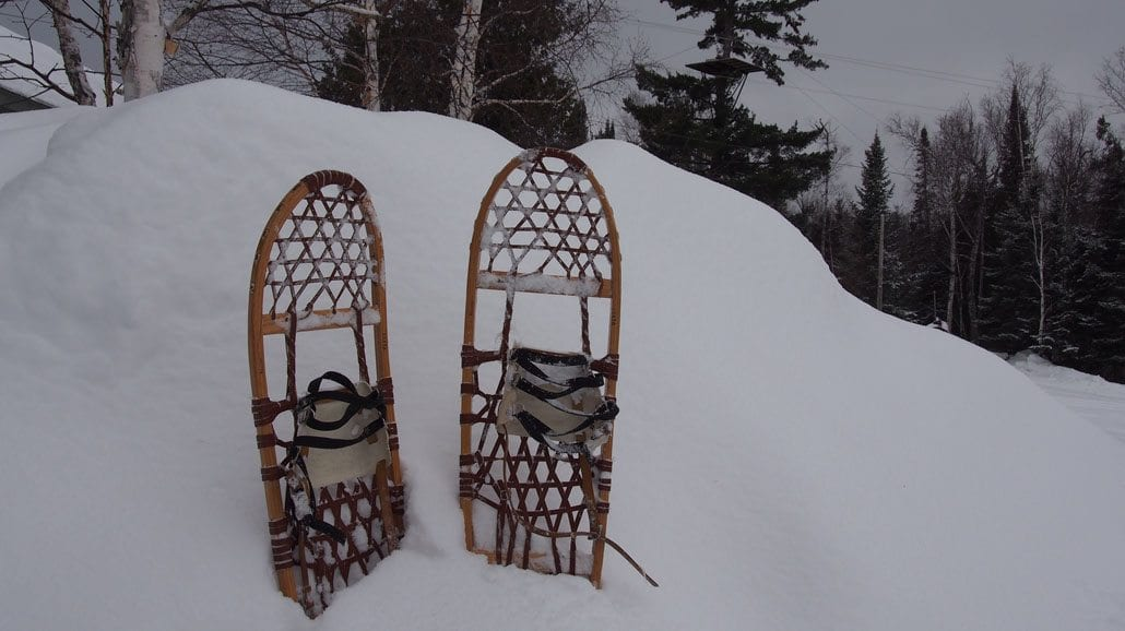 Gunflint Lodge Snowshoeing