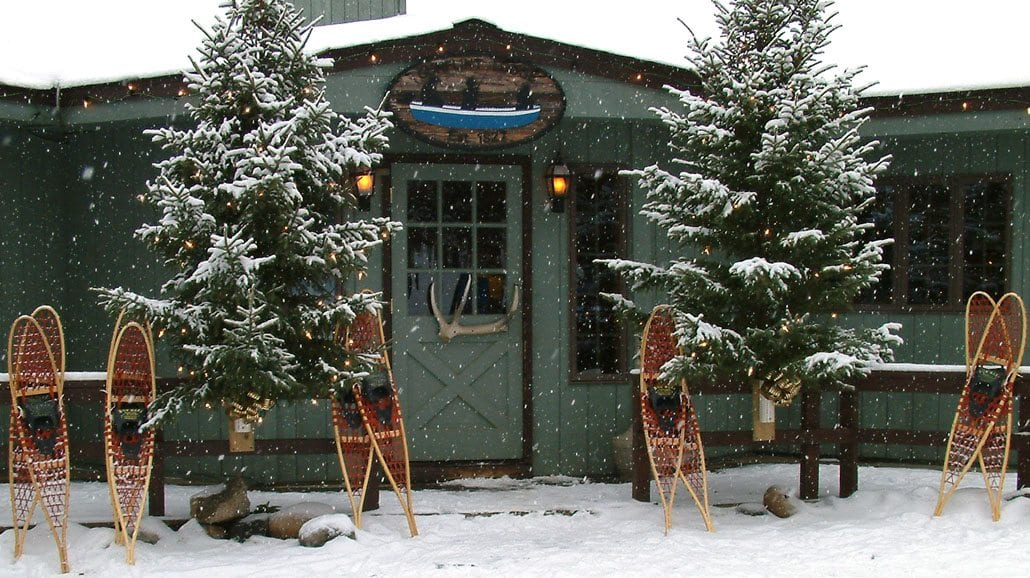 Gunflint Lodge Snowshoeing Lodge